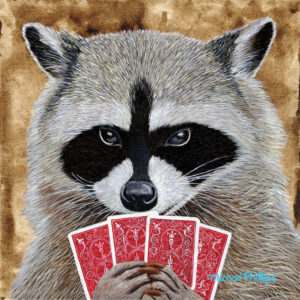 """Go Fish."" - Artist Michael Phillips"