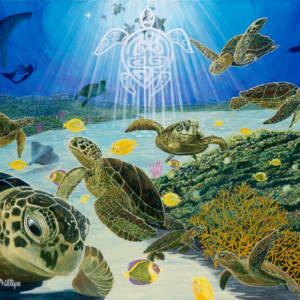 """The Angel of Turtle Town."" - Artist Michael Phillips"