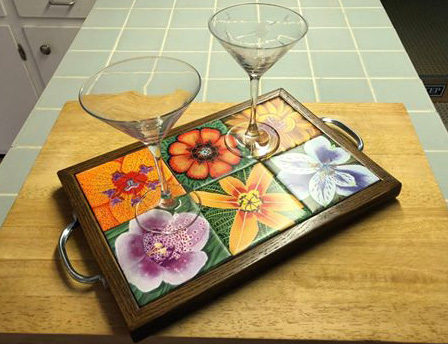 Tray with your choice of tiles